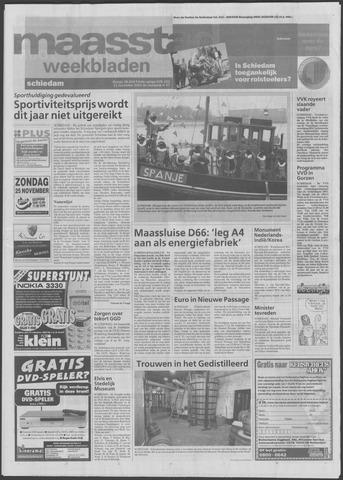 Maaspost / Maasstad / Maasstad Pers 2001-11-21