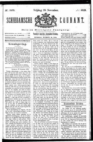 Schiedamsche Courant 1879-11-28