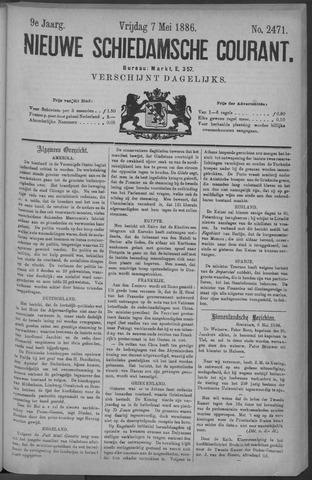 Nieuwe Schiedamsche Courant 1886-05-07