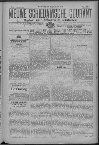 Nieuwe Schiedamsche Courant 1918-09-18