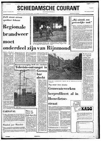 Rotterdamsch Nieuwsblad / Schiedamsche Courant / Rotterdams Dagblad / Waterweg / Algemeen Dagblad 1974-11-09