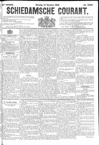 Schiedamsche Courant 1908-10-27