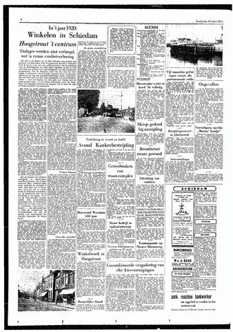 Rotterdamsch Parool / De Schiedammer 1955-04-28