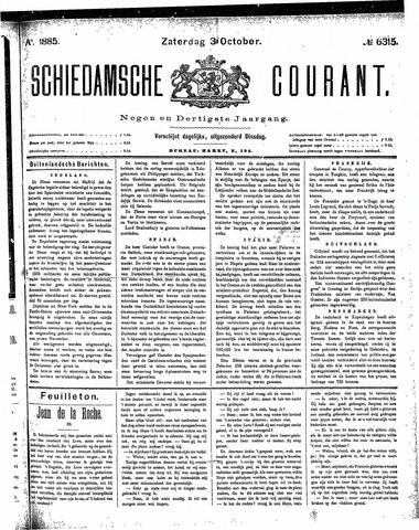 Schiedamsche Courant 1885-10-03
