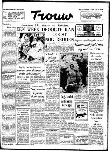 Trouw / De Rotterdammer 1960-09-10