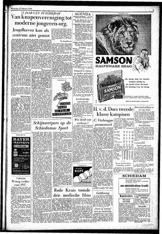 Rotterdamsch Parool / De Schiedammer 1961-02-22