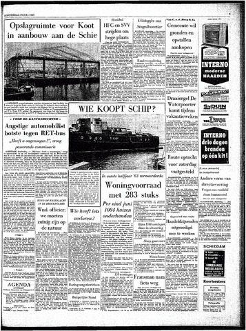 Rotterdamsch Parool / De Schiedammer 1963-07-25