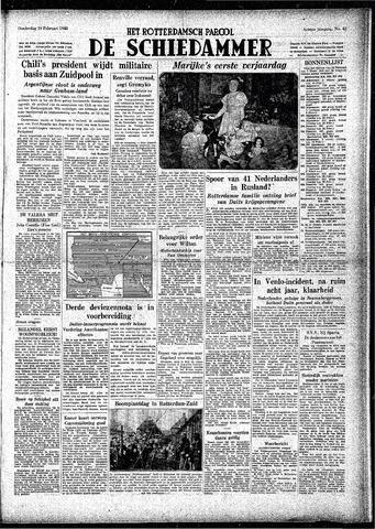Rotterdamsch Parool / De Schiedammer 1948-02-19