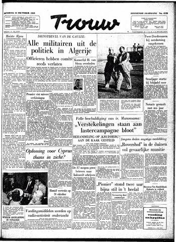 Trouw / De Rotterdammer 1958-10-14