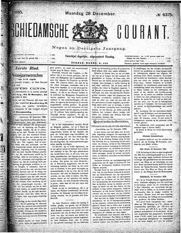 Schiedamsche Courant 1885-12-28