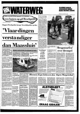 Rotterdamsch Nieuwsblad / Schiedamsche Courant / Rotterdams Dagblad / Waterweg / Algemeen Dagblad 1985-08-20