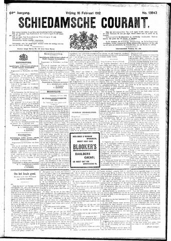 Schiedamsche Courant 1912-02-16