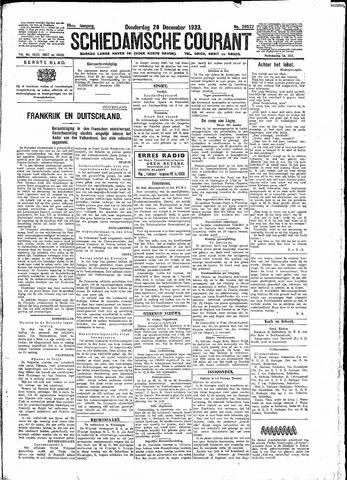 Schiedamsche Courant 1933-12-28