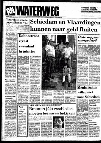 Rotterdamsch Nieuwsblad / Schiedamsche Courant / Rotterdams Dagblad / Waterweg / Algemeen Dagblad 1987-08-05