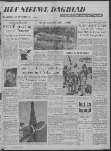 Nieuwe Schiedamsche Courant 1961-09-28