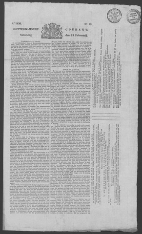 Rotterdamse Courant 1836-02-13