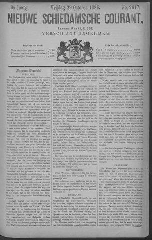 Nieuwe Schiedamsche Courant 1886-10-29