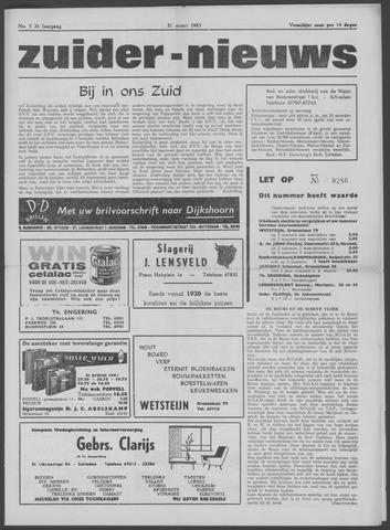 Zuider Nieuws 1963-03-21