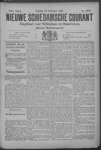Nieuwe Schiedamsche Courant 1901-02-24