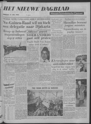 Nieuwe Schiedamsche Courant 1962-07-17