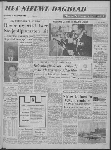 Nieuwe Schiedamsche Courant 1961-10-13
