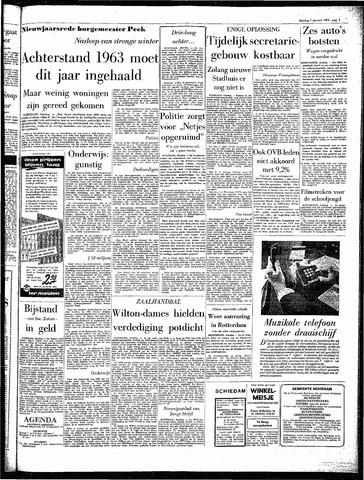 Rotterdamsch Parool / De Schiedammer 1964-01-07