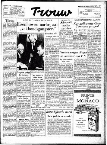 Trouw / De Rotterdammer 1959-08-07