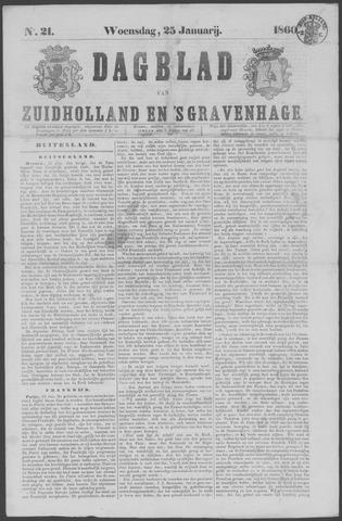 Dagblad van Zuid-Holland 1860-01-25