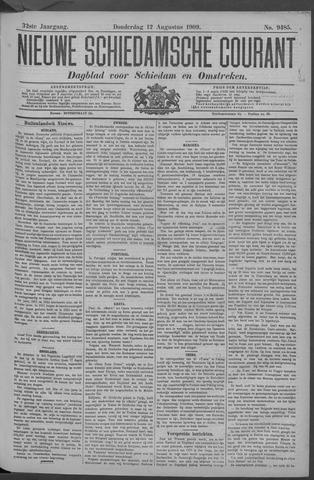 Nieuwe Schiedamsche Courant 1909-08-12