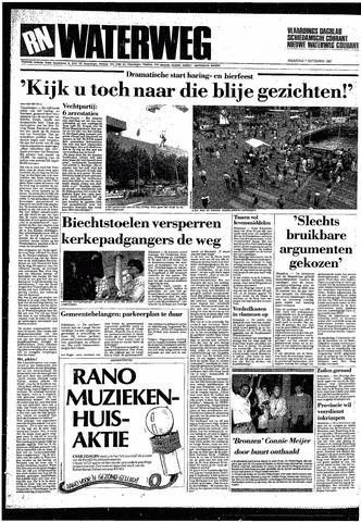 Rotterdamsch Nieuwsblad / Schiedamsche Courant / Rotterdams Dagblad / Waterweg / Algemeen Dagblad 1987-09-07