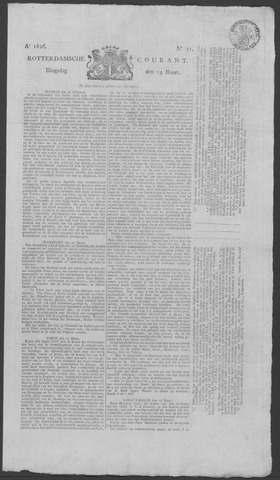 Rotterdamse Courant 1826-03-14