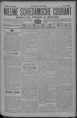 Nieuwe Schiedamsche Courant 1917-06-09