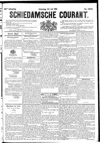 Schiedamsche Courant 1912-07-20