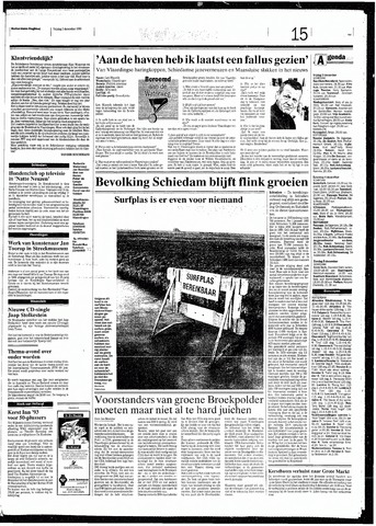 Rotterdamsch Nieuwsblad / Schiedamsche Courant / Rotterdams Dagblad / Waterweg / Algemeen Dagblad 1993-12-03