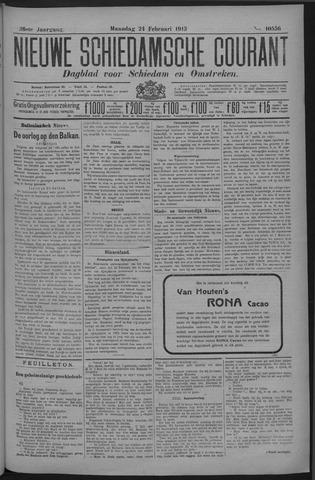 Nieuwe Schiedamsche Courant 1913-02-24
