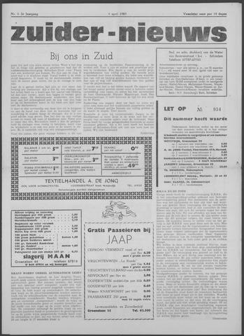 Zuider Nieuws 1963-04-04