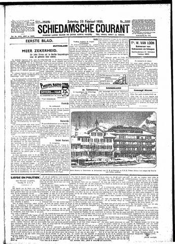 Schiedamsche Courant 1935-02-23
