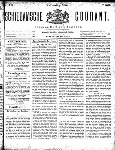 Schiedamsche Courant 1883-06-07
