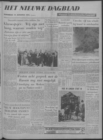 Nieuwe Schiedamsche Courant 1961-08-10
