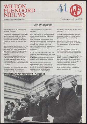 Wilton Fijenoord Nieuws 1988