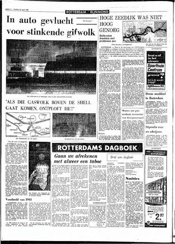 Rotterdamsch Parool / De Schiedammer 1970-04-14