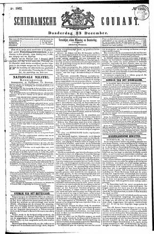 Schiedamsche Courant 1862-12-25
