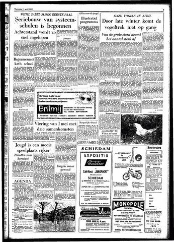 Rotterdamsch Parool / De Schiedammer 1962-04-11