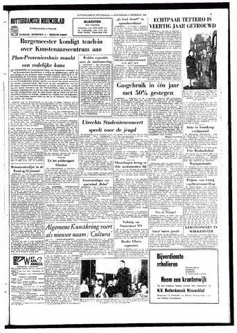 Rotterdamsch Nieuwsblad / Schiedamsche Courant / Rotterdams Dagblad / Waterweg / Algemeen Dagblad 1966-12-08