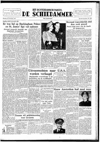 Rotterdamsch Parool / De Schiedammer 1947-11-18