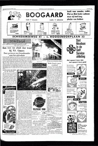 Rotterdamsch Nieuwsblad / Schiedamsche Courant / Rotterdams Dagblad / Waterweg / Algemeen Dagblad 1959-11-27