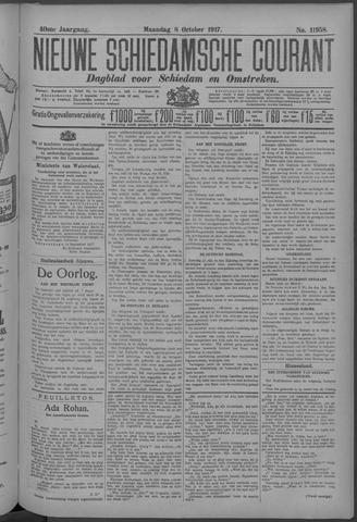 Nieuwe Schiedamsche Courant 1917-10-08