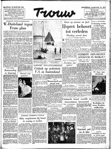 Trouw / De Rotterdammer 1955-01-10