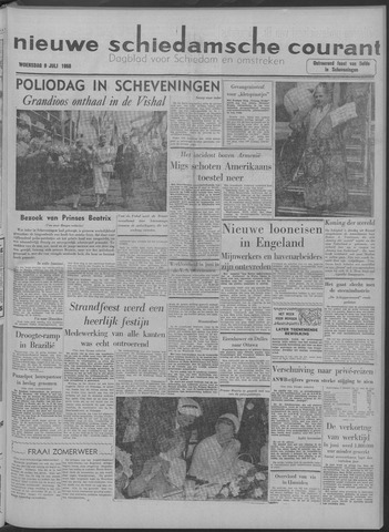 Nieuwe Schiedamsche Courant 1958-07-09