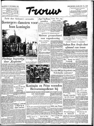 Trouw / De Rotterdammer 1955-10-31